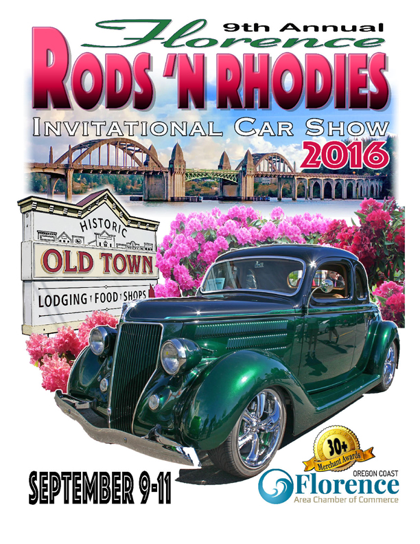 Upcoming Events | Rods \'N Rhodies Invitational Car Show | Oregon ...